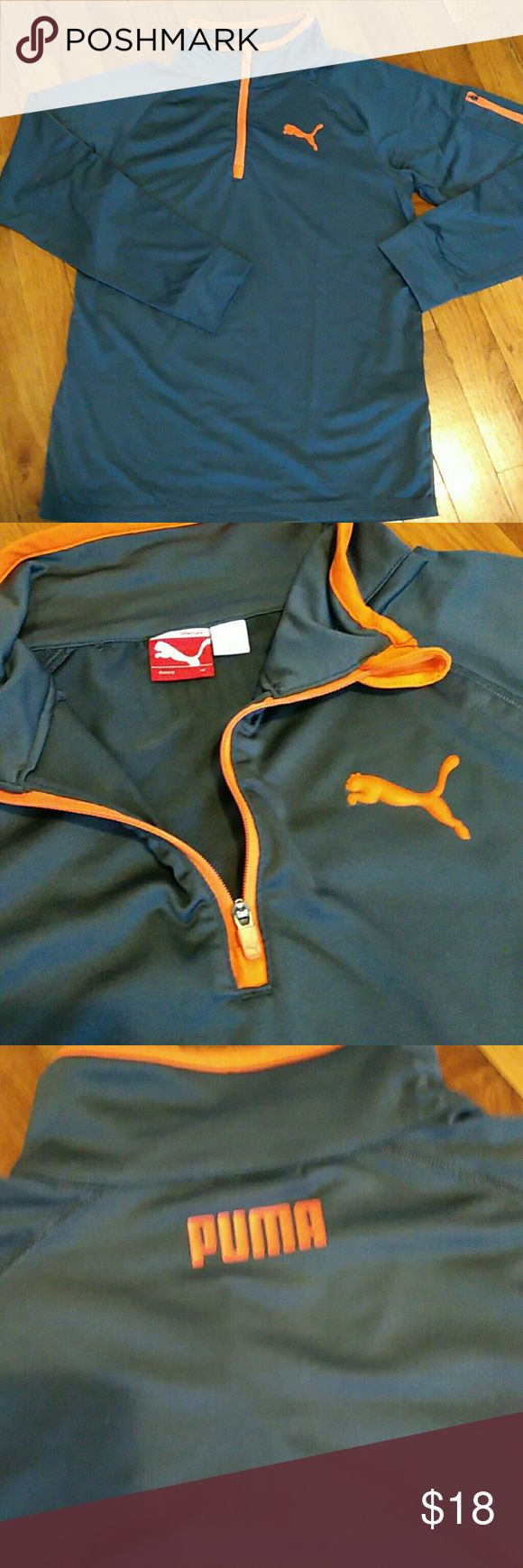 Puma sport dry cell youth shirt Gently used 2 or 3 times... Great condition for 12/14 year old Puma Shirts & Tops Tees - Long Sleeve