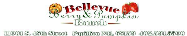 June-strawberries, July-raspberries/blackberries. Fall-pumpkins.  Bellevue Berry Farm and Pumpkin Ranch | Event Venues & Pumpkin Ranch | Located in Omaha, Nebraska