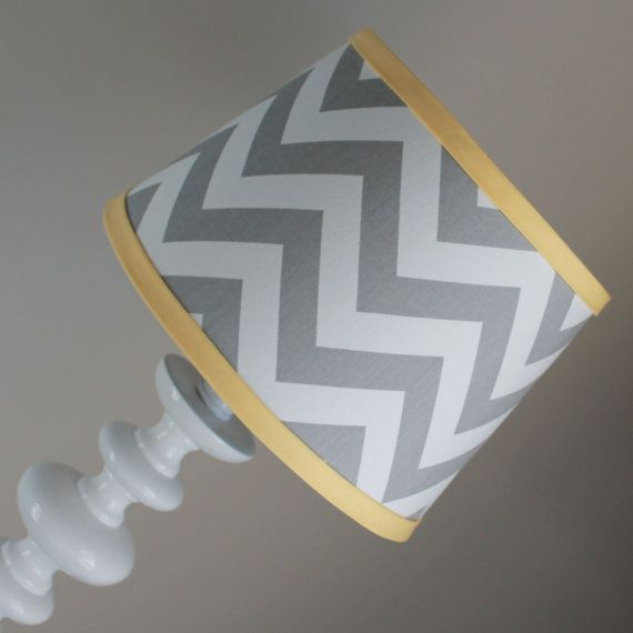 New modern design! Custom lamp shades available to match your Baby Milan bedding or any decor. The lamp shade measures 8 top 8 long and 9 wide.