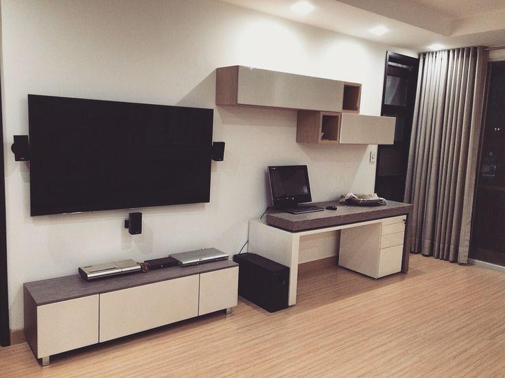 Living Room sala de estar, Rosa y gris #pink Design by: Elizabeth Arevalo Diseño & Decoración.