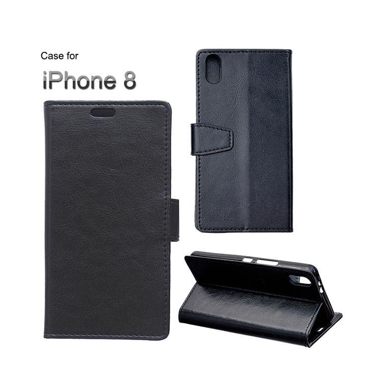 iPhone8 ケース 手帳型 レザー スタンド機能 カード収納 上質でPUレザー apple アイフォン8 手帳タイプ レザーケース アップル おすすめ おしゃれ スマホケースLCY【送料無料】 - スマホケースのIT問屋直営店