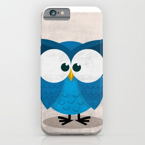 BLUE OWL iPhone & iPod Case
