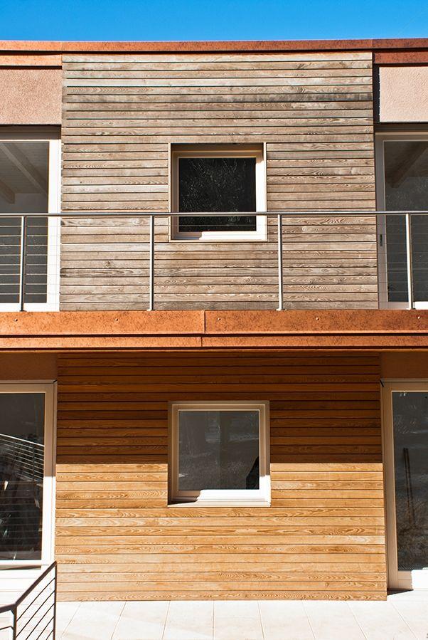 Best in legno per pareti esterne dettaglio fotografico - Colore pareti esterne casa ...