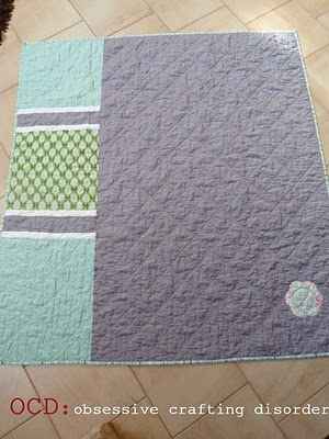 And look at the quilt back!