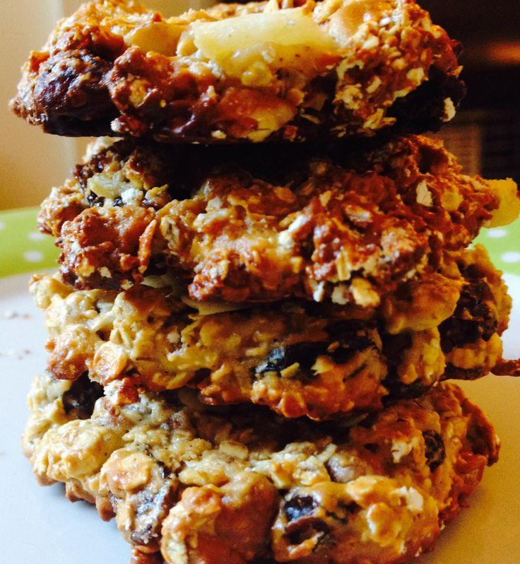 Super Fuel Cookies;healthy cookies gluten free no added sugar! More recipes at thedutchgirlbakes.wordpress.com