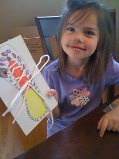 DIY Craft for Kids to help them learn to tie their shoe laces