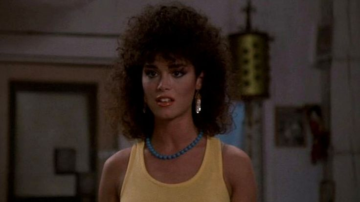 Betsy Russell in Avenging Angel (1985).