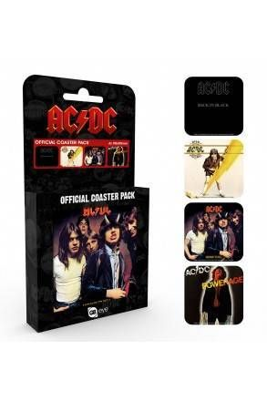 Acdc Albums Coaster Pack