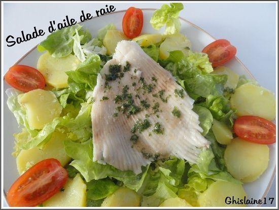 Salade d'aile de raie