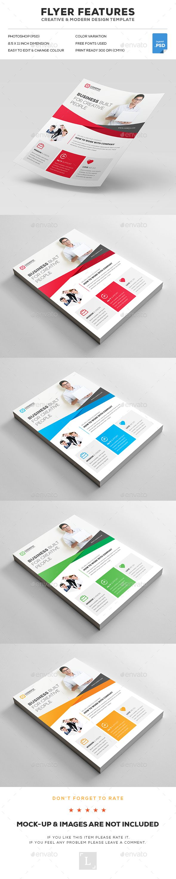 62 best flyers images on pinterest business flyer templates corporate flyer reheart Gallery