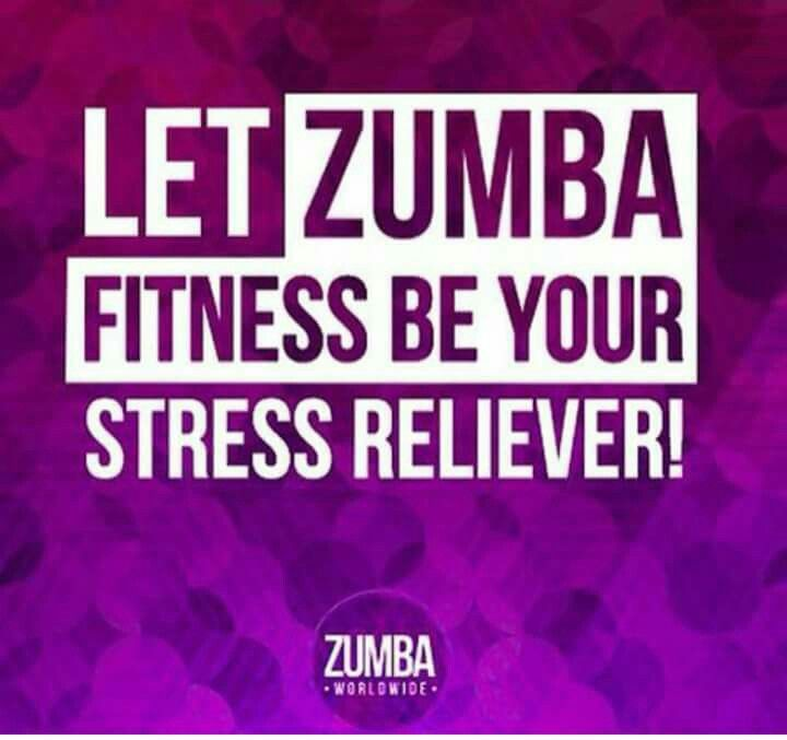 Zumba is my stress relief | Zumba quotes, Zumba workout