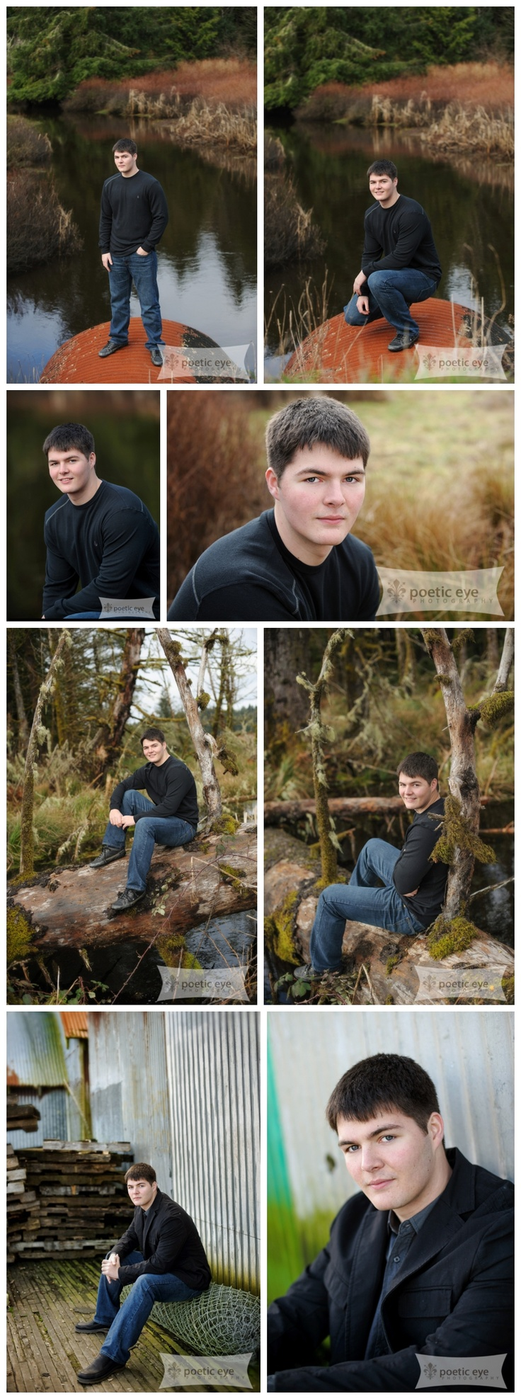 poeticeyephotography.com High School Senior Guy pictures poses