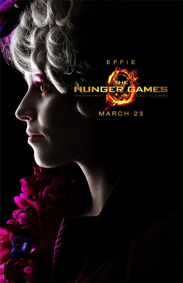 Die Tribute von Panem / The Hunger Games Poster Effie Trinket
