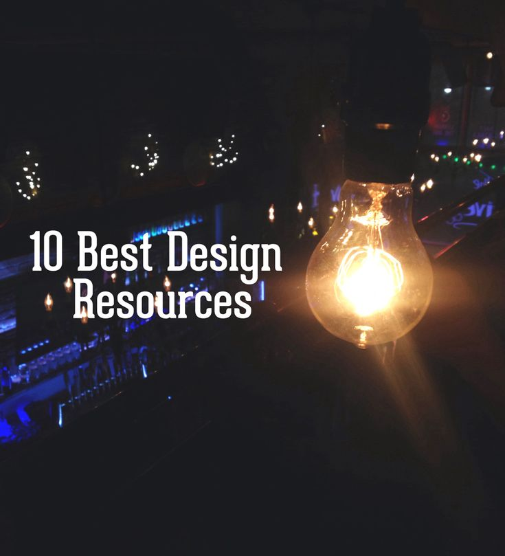 When it comes to design resources, there is overwhelming amount of tools, websites, and programs out there – sometimes it's hard to know where to go!  Read on for a few of the very best design resources on the web.
