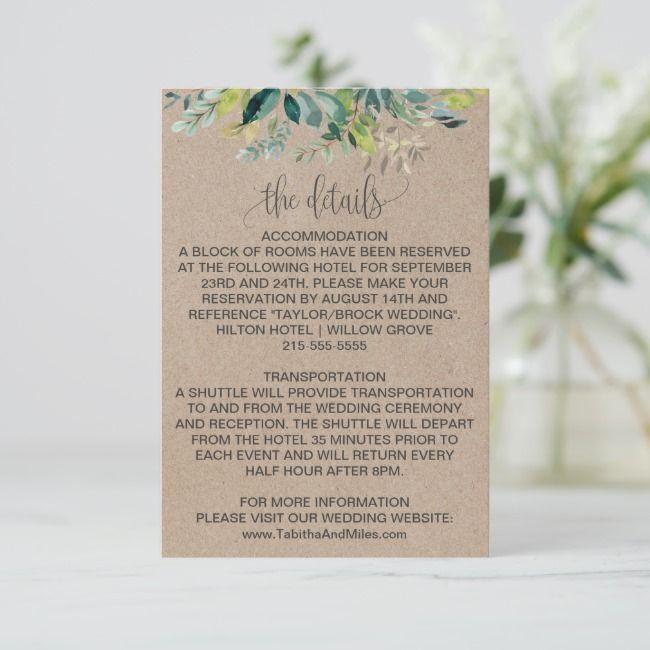 Pin On Wedding Enclosure Cards