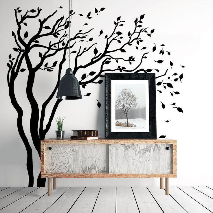 Oltre 25 fantastiche idee su decorazione da parete con - Albero su parete ...