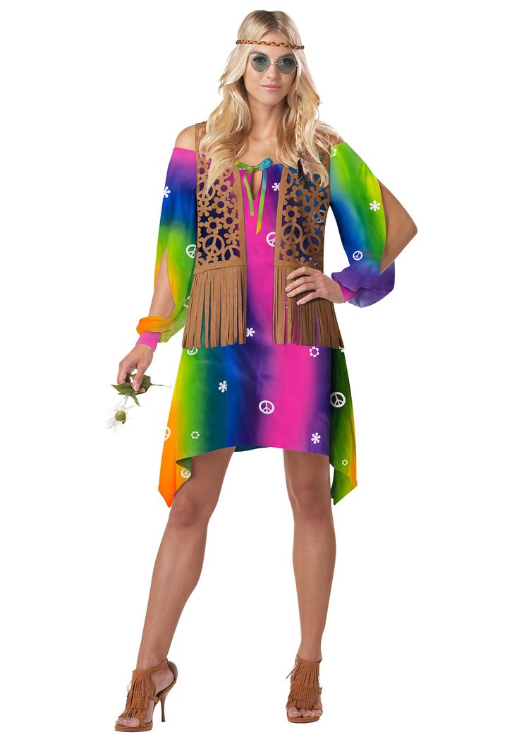 1970S Hippie Fashion Hairstyles