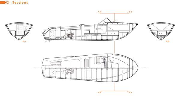 speedboat model built by Italian yachtbuilder Riva