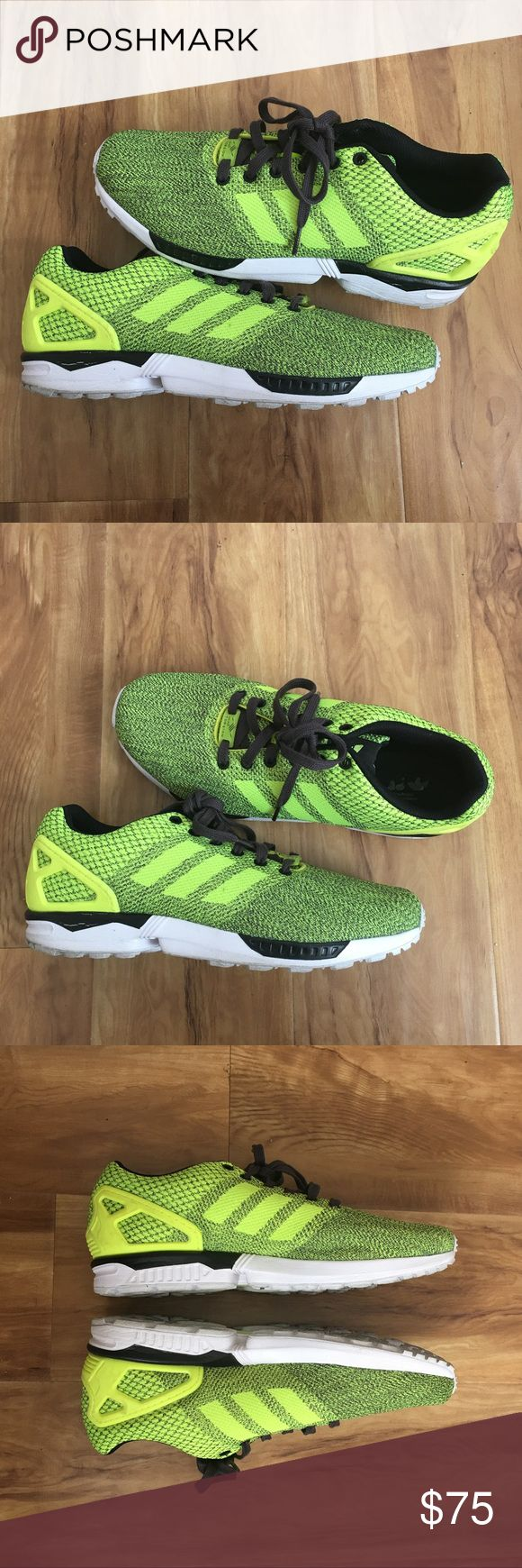 Adidas ZX Flux Weave Torsion Good condition only worn a few times no box adidas Shoes Athletic Shoes