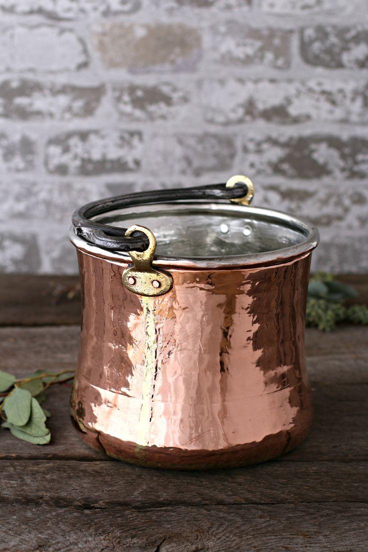 262 best Very VTG Kitchen Copper (Real) images on Pinterest ...
