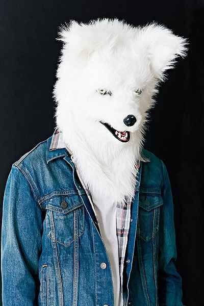 This Realistic Wolf Mask from Urban Outfitters is Perfect for Halloween #halloween #masks trendhunter.com