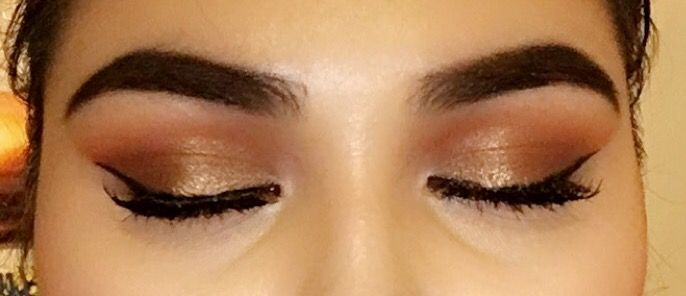 Used my Morphe 35O pallete and my modern renaissance pallete the other day to create this look!