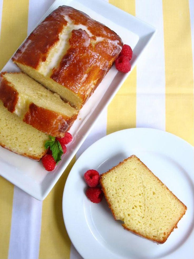 Ina Garten's Lemon Loaf Cake and Raffaldini Vineyards - Willow Bird Baking