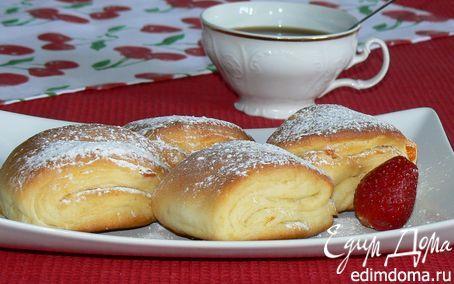 Творожные витые булочки с курагой | Кулинарные рецепты от «Едим дома!»