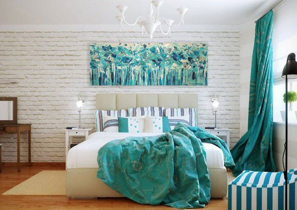 Silver Impasto Wall Art Navy Flower Impasto Wall Art Teal Flower Canvas Narrow Horizontal Teal G Turquoise Bedroom Decor Modern Bedroom Interior Turquoise Room