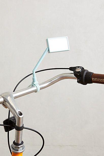 Pedal push bike mirror