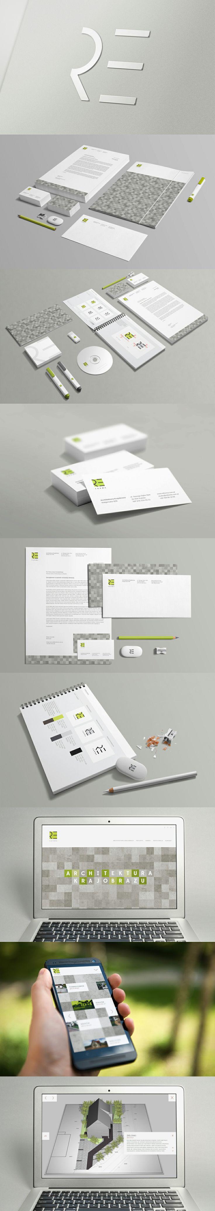 Reforma by Clou Studio. #branding #design #logo #identity #corporate #id #print #cloustudio