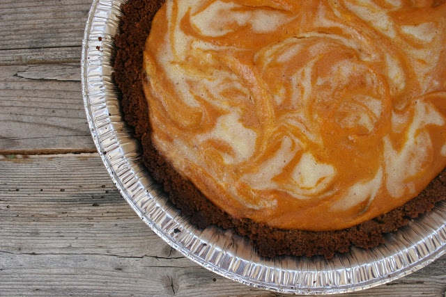 nothing-in-the-house: Pumpkin Ginger Cheesecake Pie & Other ...