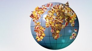 BBC News: Global weight gain more damaging than rising numbers