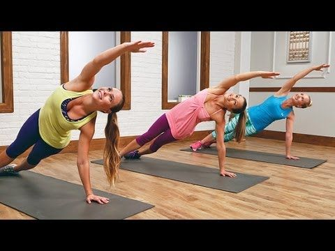 Bikini Belly Boot Camp - 10 Minutes to Tone! | Class FitSugar - YouTube