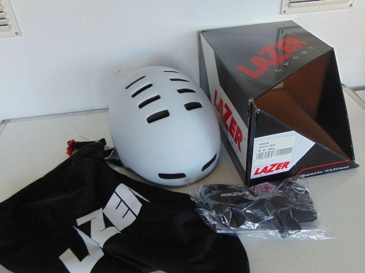 Lazer Armor BMX Helmet Matte White -NEW-