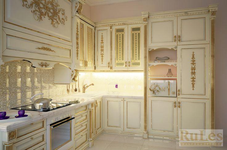 #Дизайн #кухни по индивидуальному заказу  #kitchen #luxury #рулес #интерьер