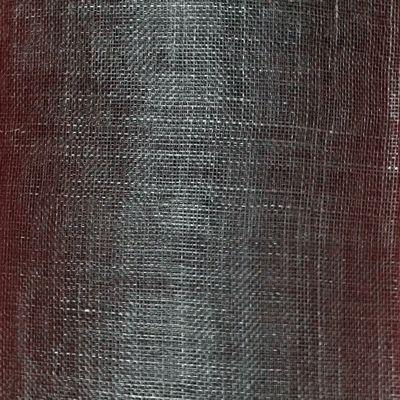 Black Sinamay Roll 1/2 metre