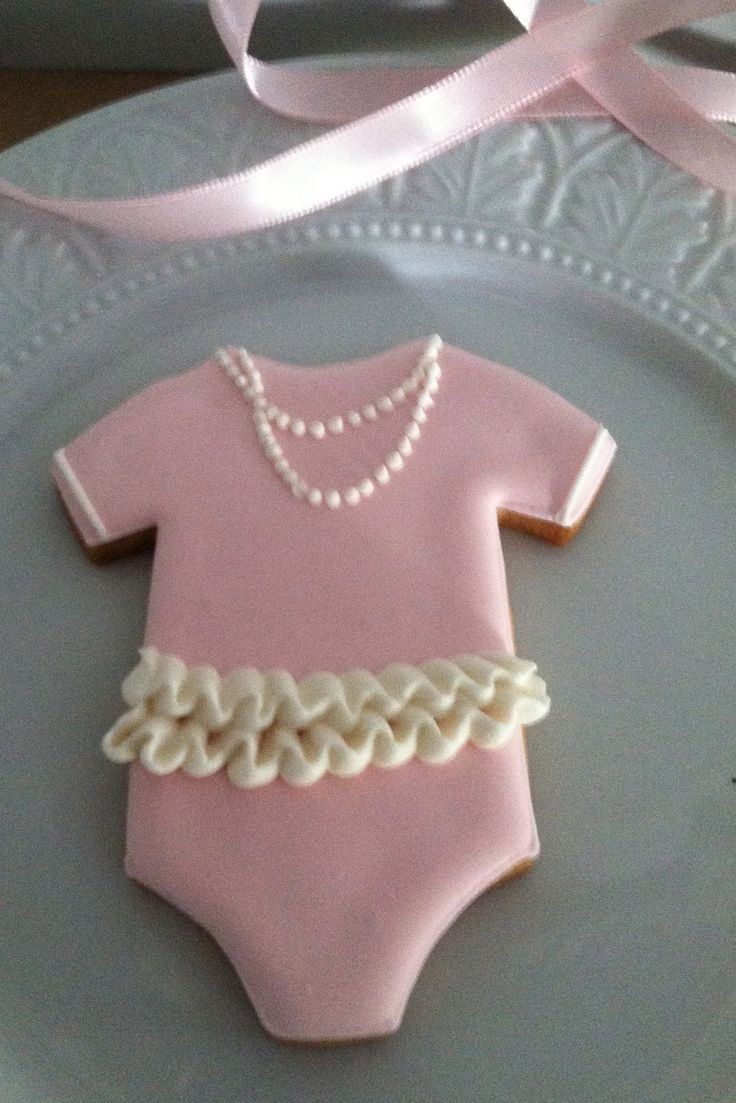 Little Lady Onesie Cookies