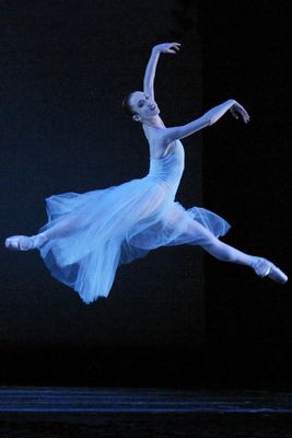 """The Oregon Ballet Theatre production of George Balanchine's """"Serenade."""""""