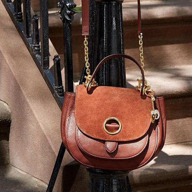 121efdc4ce13b ... it SidewalkSpotted · Michael Kors BagMichael ... Michael Kors buy  online Straw Gabriella satchel Sloan Editor Medium Acorn Leather Chain Shoulder  Bag ...