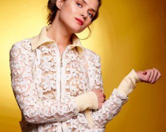Lace Jacket, Lace Bomber Jacket, Plus Size Jacket, Floral Jacket, Boho Jacket…