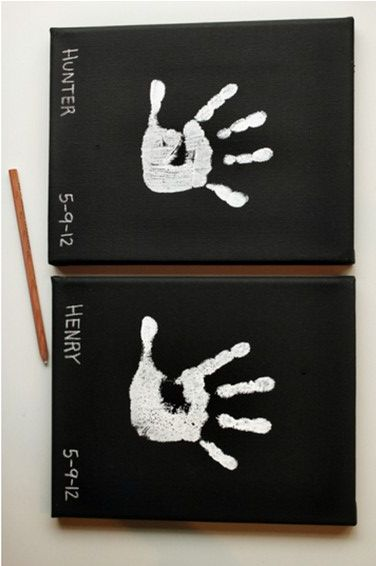 DIY Mothers day Chic Handprint Art 10 DIY Amazing Gift Ideas For Mother's Day