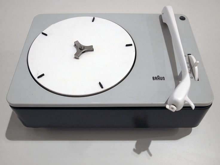 Braun PC3 Record player by Dieter Rams for Braun.