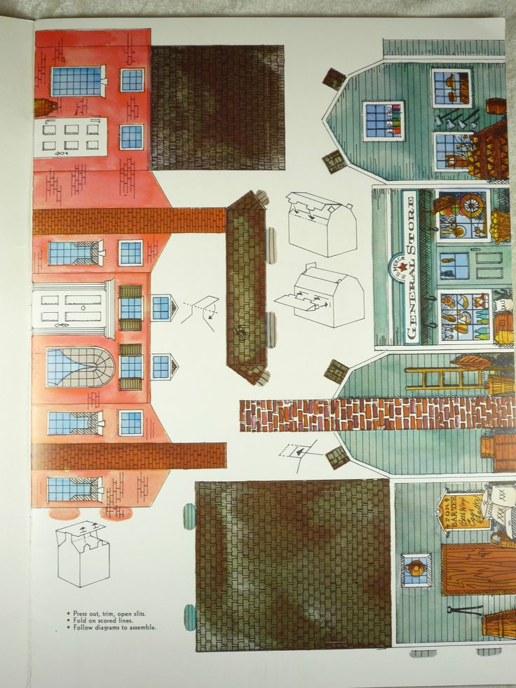 Cardboard dollhouse furniture templates woodworking for Paper house planner