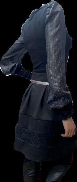Grey-blouse
