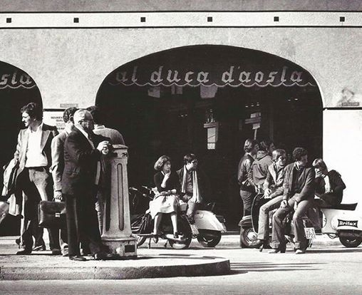 Throwback to 1969 Directly from our archive, an old photo of Al Duca d'Aosta store in Mestre (Venice) in the 60's!  #alducadaosta #tbt #mestre #venice #store
