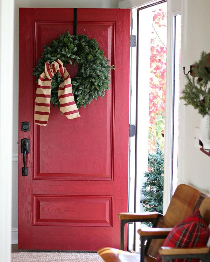The Tale Of An Ugly House Blog Shares Their Gorgeous Front Door Painted  With Modern Masters