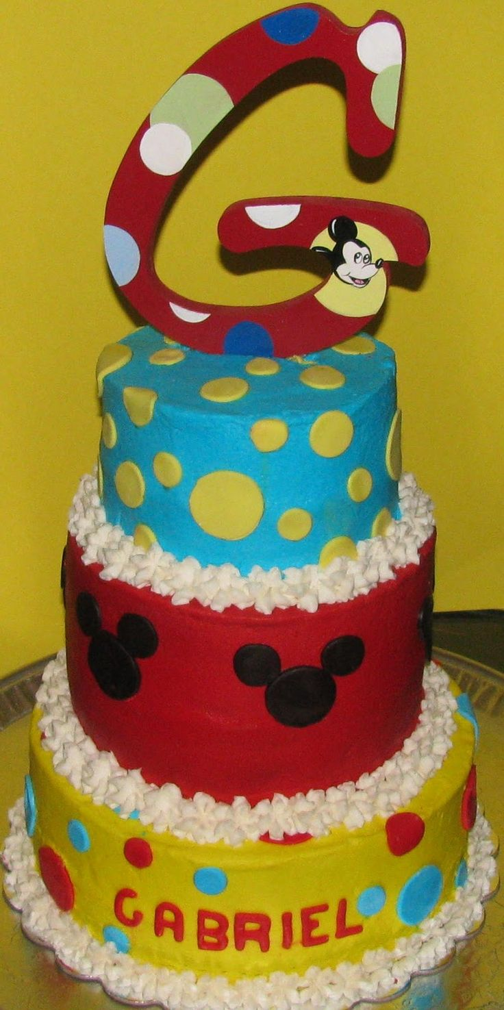 baby mickey mouse cakes | Sweet Endings by Stephanie: Mickey Mouse Cake