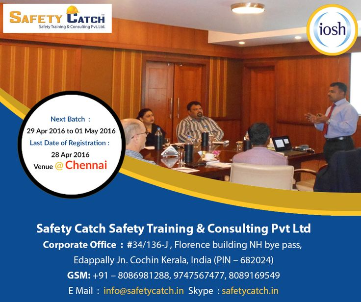 #IOSH course is vital for you if #health and #safety is critical to your role. Join our next batch starting from 29th Apr 2016: http://bit.ly/IOSH-Training-Program