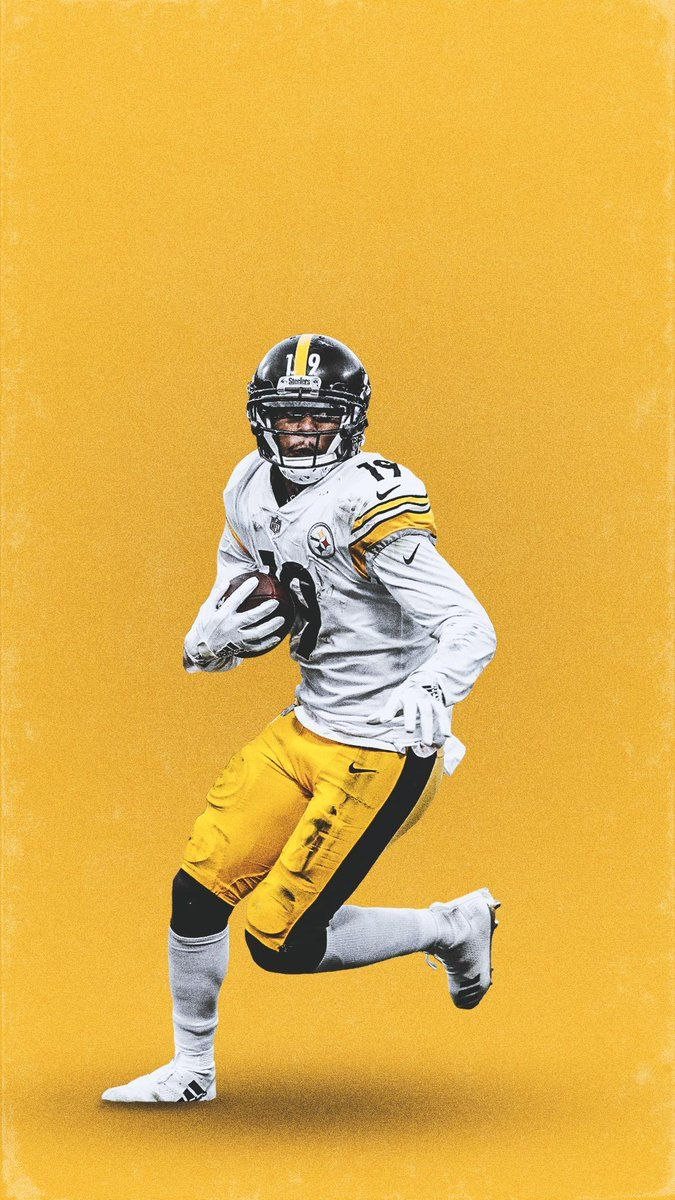 Juju Smith Schuster Nfl Football Art Steelers Football Pittsburgh Steelers Players